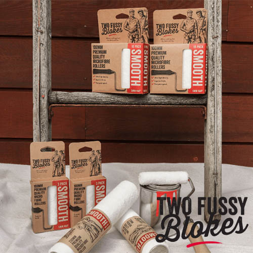 "Two fussy blokes Microfibre Rollers Mini&Single 투퍼시 롤러 스무스&세미스무스 4"", 9"""